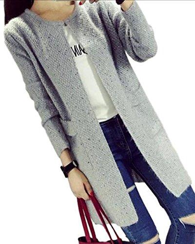 (サニープール)Sunny POOL カーディガン レディース ツイード ロング ロングカーデ 冬 春 パステルカラー 羽織り