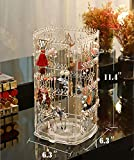 Sooyee 360 Rotating Earring Holder and Jewelry