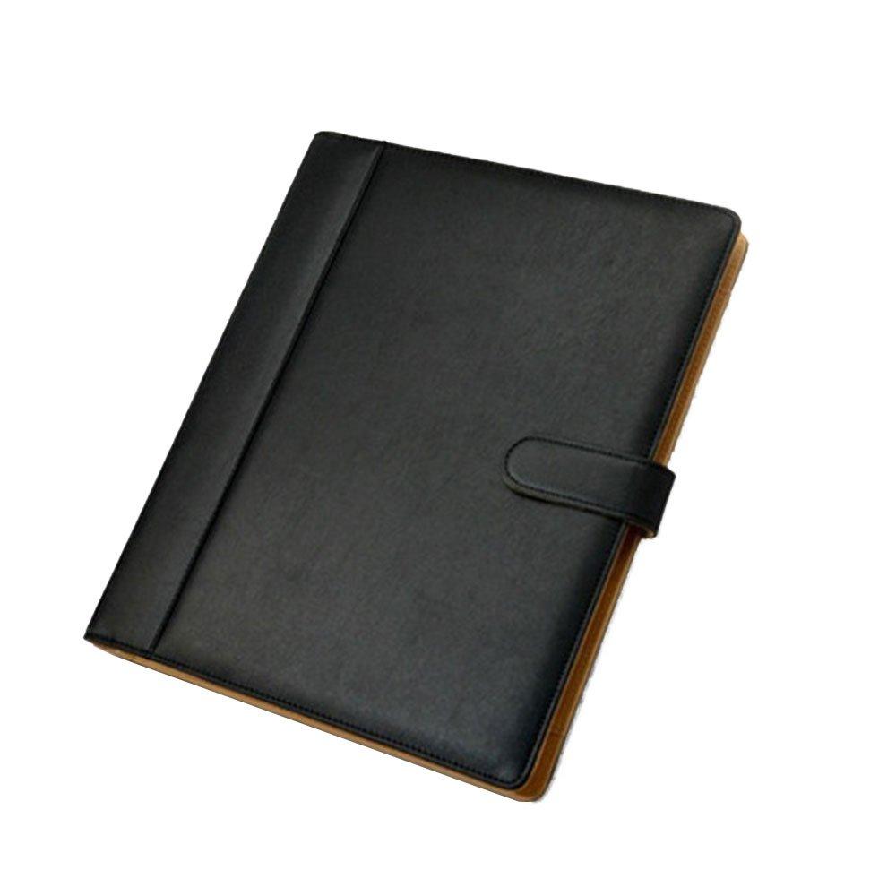 Goodjobb Multi-Function Manager Folder with Calculator Business Document Holder Travel Folder,Black by Goodjobb (Image #1)