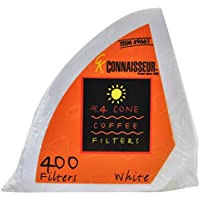 3 X Rockline #4 Cone Coffee Filters - Oxygen Cleansed- 400 Count