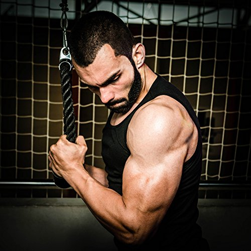 Heavy Duty Dual Grip Tricep Rope
