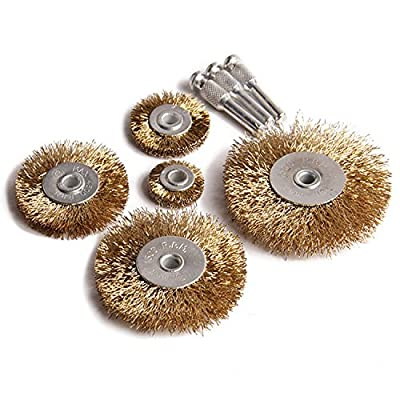 bogo Brands MJ90 Wire Brush Wheel Drill Set (5 Piece)