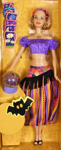 Halloween Fortune Barbie Fortune Teller doll Target Exclusive -