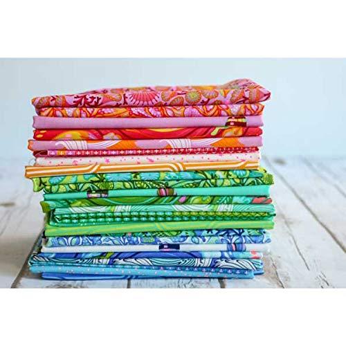 Tula Pink Rainbow Waves Quilt Kit Featuring Tula Pink Zuma Fabric by Tula Pink Patterns (Image #2)