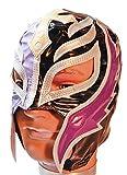 WWE Rey Mysterio Kid Size Half Black/Half Purple Licensed Replica MASK