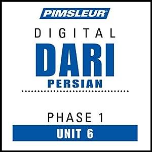 Dari Persian Phase 1, Unit 06 Audiobook