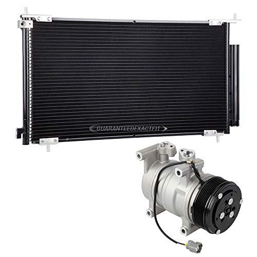 AC Compressor w/A/C Condenser Drier For Honda CR-V 2002 2003 2004 2005 2006 - BuyAutoParts 60-86872R3 New