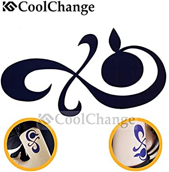 Cool Change One Piece brazo tatuaje temporal etiqueta de Nami ...