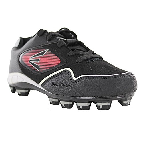 Easton Boys Black Baseball Cleats with Inserts (5) - Image 6
