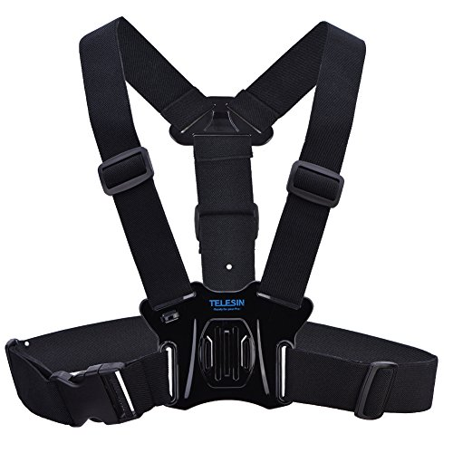 Acouto Adjustable Body Chest Strap Mount Harness Belt for Go pro Hero 5/4/3+/3 Sport Camera by Acouto