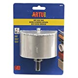 Hole Saw Tc Grit 4in W/Arb&Bit
