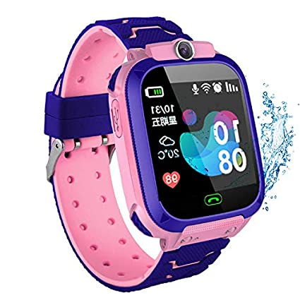 Leobtain Kids Smartwatch Impermeable GPS Tracker Watch Phone ...