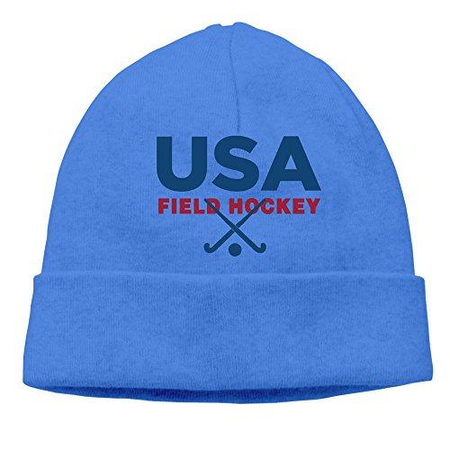 - USA Field Hockey Team Knitted Hats Skull Cap
