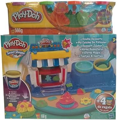 Play-Doh - Horno de repostería con 4 Botes (Hasbro B1513500 ...