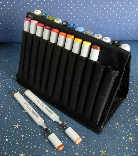 Copic Markers Sketch Fashion Design Sketch Wallet by Copic Marker