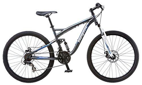 - Mongoose Men's Detour Mountain Bike, 18-Inch/Medium