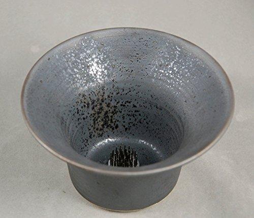 Vase Ikebana Style Bud Vase in Bronze Black