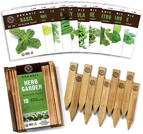 Herb Garden Seeds Planting Certified product image