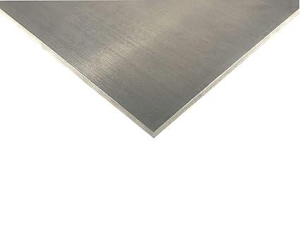 feuille 1 100x100x2mm t/ôle daluminium Feuille de t/ôle daluminium de 1-3 mm AlMg feuille daluminium s/électionnable coupe
