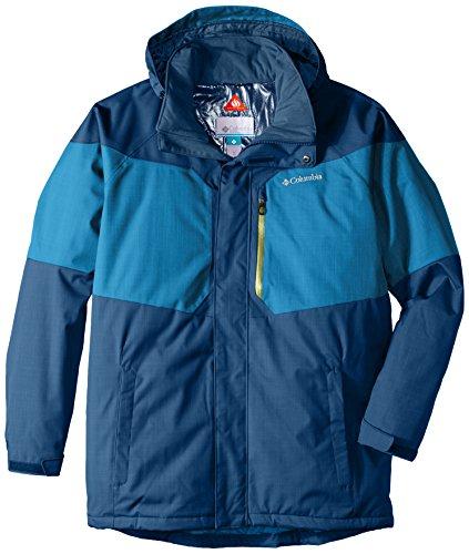Columbia Men's Tall Alpine Action Jacket, 3X/Tall, Dark Compass/Phoenix Blue