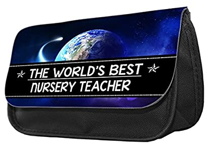 The Worlds Best Nursery Teacher - Estuche para lápices ...