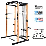Fitness Power Rack Power Cage Home Gym Equipment Exercise Stand Olympic Squat Cage