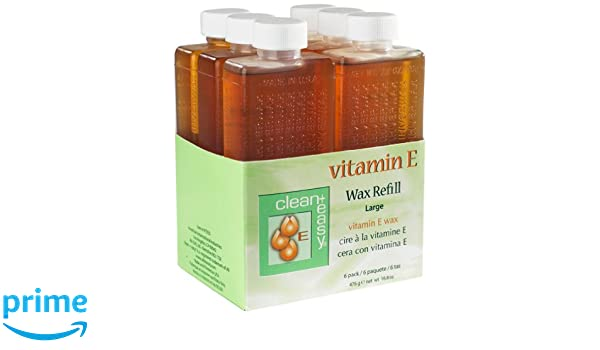 Clean & Easy Wax Refill Large Vitamin E, Net Wt. 16.8 oz by Clean & Easy: Amazon.es: Salud y cuidado personal