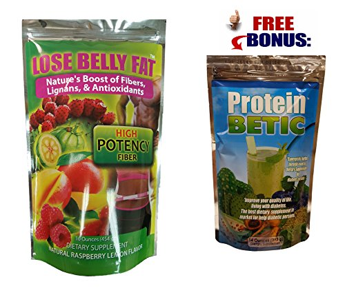 LOSE BELLY FAT POWDER PLUS PROTEIN BETIC POWDER - Friendly Meals That Beat Belly Fat / SPECIAL COMBINATION - FOR DIABETICS