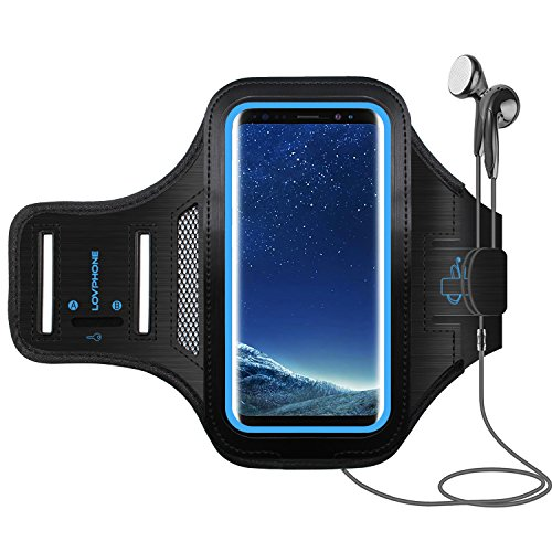 Galaxy S8 Plus Armband - LOVPHONE Sport Running Exercise Gym