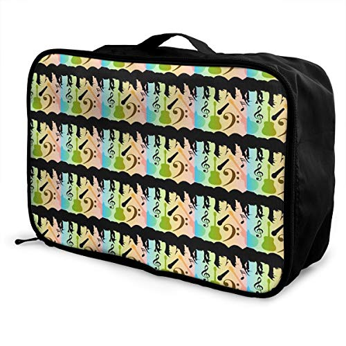 Portable Luggage Duffel Bag Beatles In Color Travel Bags Carry-on