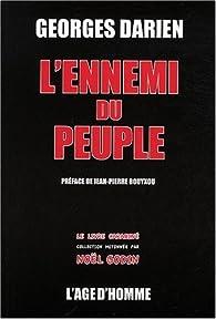 L'ennemi du peuple par Georges Darien