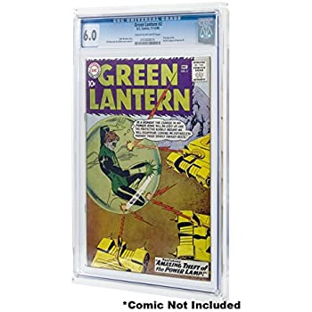comic book display case wall mount for cgc graded comics home kitchen. Black Bedroom Furniture Sets. Home Design Ideas