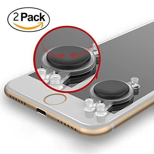 Legend Arena (Mobile Game Joystick Game controller for Cellphones Tablet, iPad iPhone Android Phones, Touch Screen Game Rocker For Mobile Legends, Arena of Valor etc. (2 PCS))