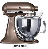 kitchenaid 220v - 220 Volt Overseas KitchenAid 5 Qt. 4.7 Liters Artisan Mixer KSM150 Stand Mixer (Apple Cider)