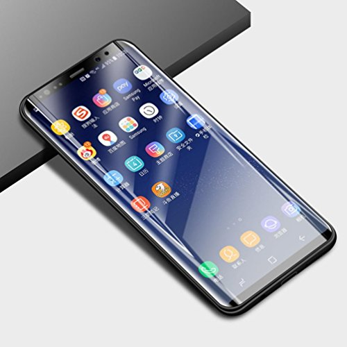 Sunfei Front+Back Ultra Thin Clear TPU Screen Protector Film For Samsung Galaxy S9/ Samsung Galaxy S9 Plus (6.2inch) by Sunfei (Image #3)