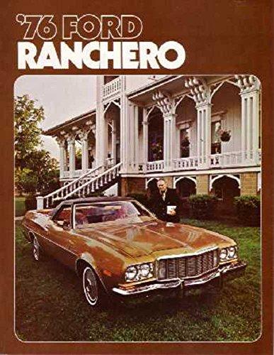 (1976 Ford Ranchero Sales Brochure Literature Book Piece Advertisement Options)