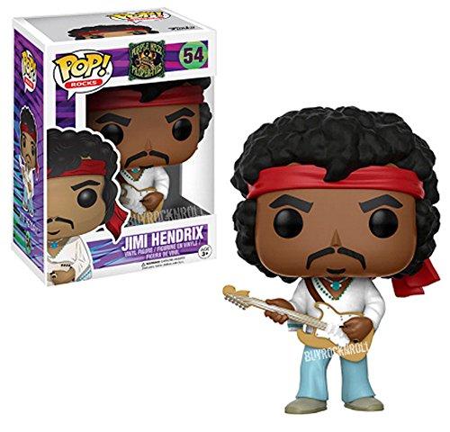 Jimi Hendrix Collectible: Handpicked 2017 Funko POP! Rocks Woodstock Figure in Display Case from Pop Rocks!