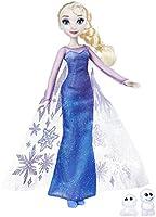 Frozen - Muñeca auroras boreales Elsa y Snowgies (Hasbro B9201ES0)