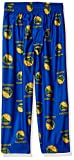 NBA Toddler Warriors Sleepwear All Over Print Pant, 4T, Blue