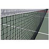 FidgetFidget Tennis Net 42ft Tennis & Racquet Sports Drop 1x Tennis net 12.8M X 108cm