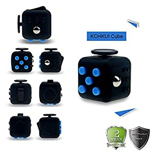 KCHKUI Cube Fidget Toy Cube Relieves Stress and Anxiety Attention Toy for Work, Class, Home