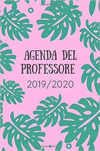 Agenda del professore 2019/2020: Agenda scuola, Agenda ...