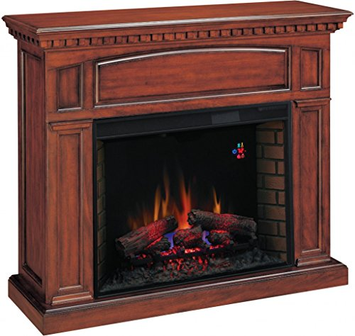 Georgetown Premium Cherry Classic Flame Electric (Premium Oak Electric Fireplace)
