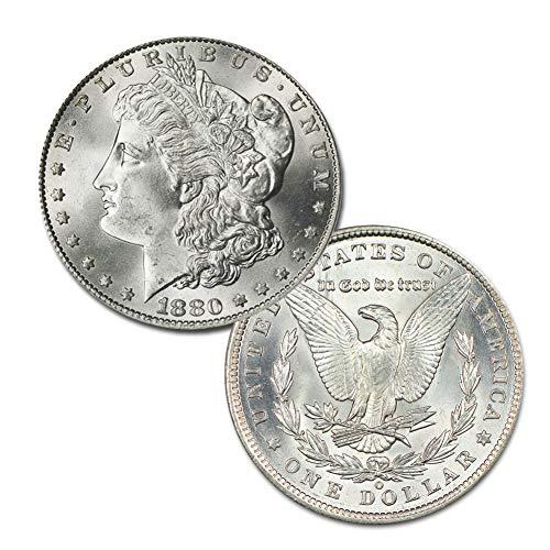 (1880 O Morgan Silver Dollar $1 Brilliant Uncirculated)