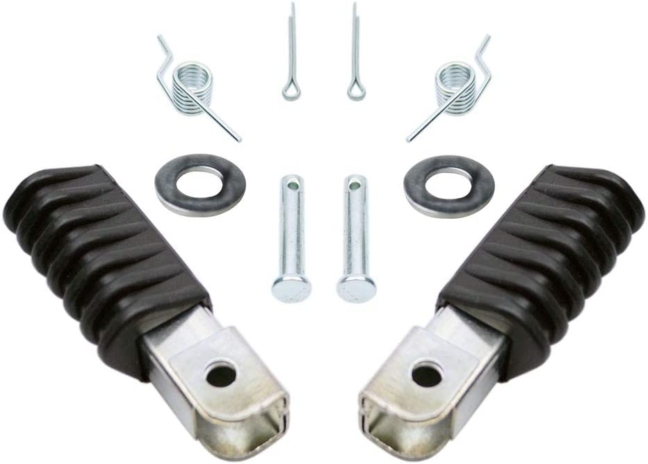 Aluminium Footpegs Foot Pegs Rest For Yamaha PW50 PW80 TW200 Pit Dirt Motor Bike