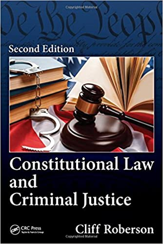 Amazon com: Constitutional Law and Criminal Justice