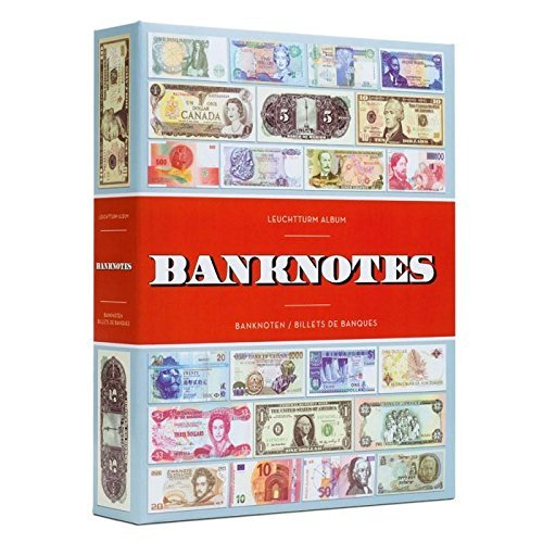 Album BANKNOTES for 300 banknotes, with 100 bound sheets