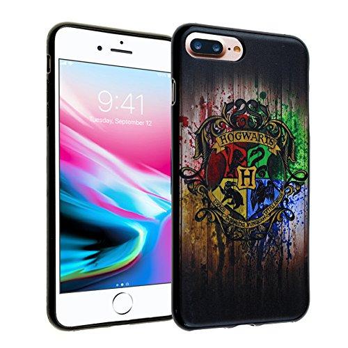 iPhone 7 Plus Case, IMAGITOUCH Harry Potter Hogwarts Houses Anti-Scratch Shock Proof Slim Fit Flexible TPU Case Bumper Cover for iphone 8 Plus / 7 plus Hogwarts House Bumper ()