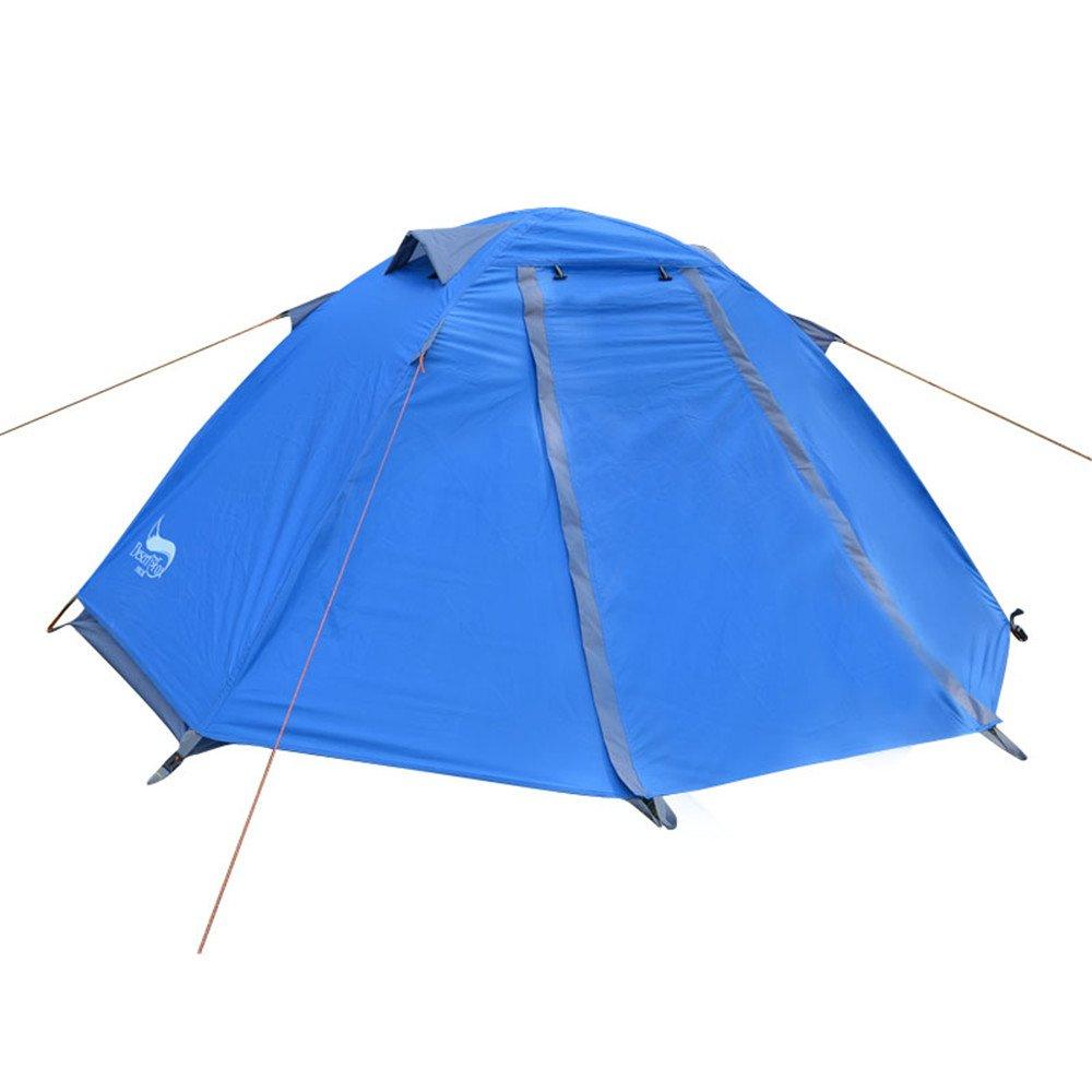 一人乗りの頑丈なテント二段雨防りバックパックテント/組み立てが必要キャンプ走行のハイキング用超軽量防水 B07C1628D2 B07C1628D2, エンデュランス:5c5a88c4 --- ijpba.info