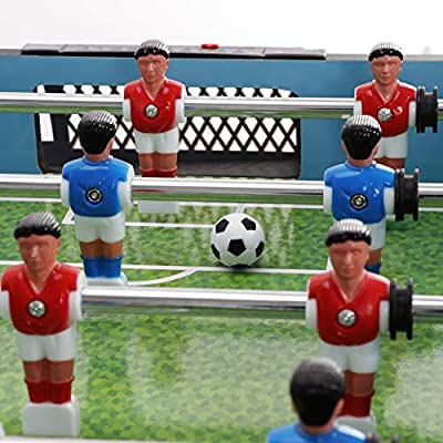ZENY 40 in Home Tabletop Foosball Table/Soccer Game for Kids Portable Compact Mini Table Top Football Games for Arcades, Game Room, Kids Playroom : Sports & Outdoors